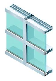 Stick System Curtain Wall Curtain Wall Stick System Diamond Glass