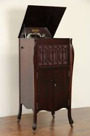 Antique Record Player Cabinet Sonora Windup Antique 1915 Phonograph Record Player Ebay