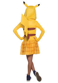 Charizard Halloween Costume Girls Pikachu Hoodie Dress