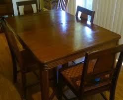 1940 u0027s hooker and bassett dining room set antique appraisal