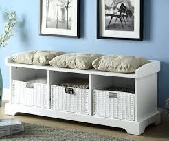 Storage Bench With Drawers Bench With Storage Baskets U2013 Dihuniversity Com