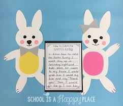 easter bunny books school is a happy place how to catch the easter bunny a free