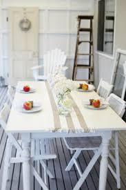 Cottage Dining Room Ideas by Beach Cottage Coastal Style Coastal Decor Table Life By The Sea