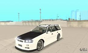 nissan stagea nissan stagea gtr for gta san andreas