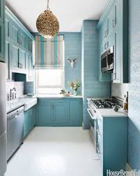 Kitchen Colour Design Ideas Kitchen Awesome Blue Kitchen Walls With Brown Cabinets