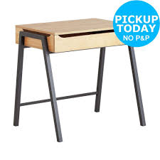 Ebay Reception Desk by Collection Billie 3 Drawer Desk Blue From The Official Argos