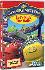 chuggington u0027s ride rails dvd amazon uk unknown