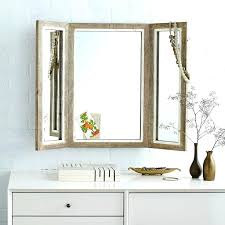 Tri Fold Mirrors Bathroom Phenomenal Tri Fold Bathroom Mirror Ideas Tri Fold Mirrors