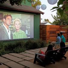 Backyard Movie Theatre by A Backyard Movie Night Outdoor Ideas For Summer Fun