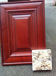 Red Mahogany Kitchen Cabinets Hardwood Floor Color Matching Kitchen Cabinets