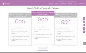 Wedding Photographers Prices New Wedding Photography Website Design Peppard Creative Web Design
