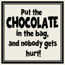 put chocolate in bag wall decal wall sticker home family