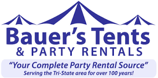 tent and table rentals bauer s tents and party rentals wedding tents