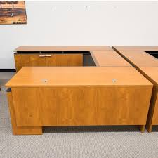 Used U Shaped Desk Used Halcon Right U Shaped Executive Office Desk Deu1570 005