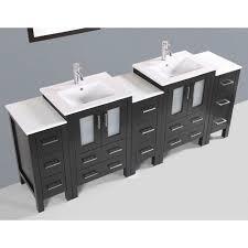 84 inch vanity cabinet contemporary 84 inch espresso finish double sink bathroom vanity