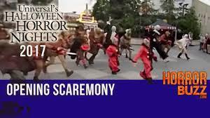 halloween horror nights hollywood 2017 drop youtube