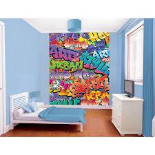 walltastic 96 in h x 78 in w graffiti wall mural wt43855 the w graffiti wall mural
