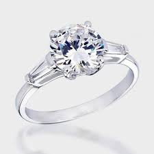cubic zirconia white gold engagement rings finest quality cz rings wedding promise
