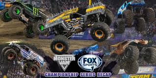 monster truck show in houston a look back at the monster jam fox sports 1 championship series
