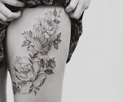 Thigh Tattoos - the 25 best thigh tattoos for ideas on