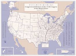 Map Of Ne United States by National 109th 112th Congressional District Wall Maps