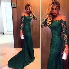 sleeve lace prom dress hunt green prom dress prom dress online