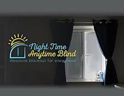 Portable Blackout Blinds Night Time Anytime Perfect Fit Magnetic Black Out Blinds For Any