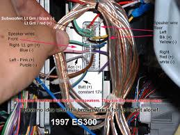 97 99 es300 wiring for factory amp clublexus lexus forum