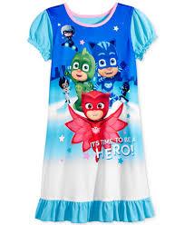pj masks u0027s hero nightgown girls 4 6x