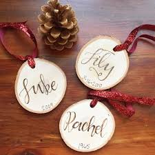 and wood burned ornaments