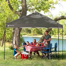 Outdoor Patio Canopy Gazebo by Ozark Trail Instant Canopy Dark Grey 10 U0027 X 10 U0027 X 112