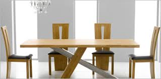 Modern Oak Dining Tables Extraordinary Modern Oak Dining Table Contemporary Brucall