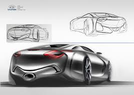 hyundai supercar concept hyundai pony convertible concept on behance