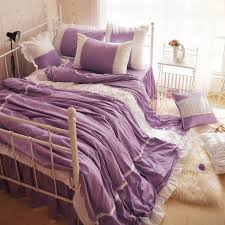 Cute Comforter Sets Queen Bedroom Good Purple Comforter Sets Queen