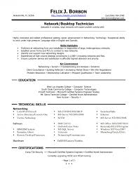 sample resume computer hardware technician of for 19 remarkable