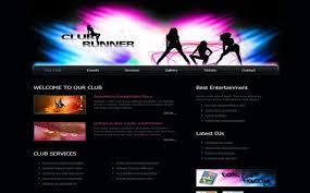 html header design online free music store html css website template