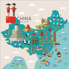 vector maps china map with infographic vector 02 vector business vector