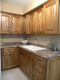 adorable brown color cherry wood kraftmaid kitchen cabinets come