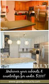 Update Kitchen Cabinets With Paint Best 25 Easy Kitchen Updates Ideas On Pinterest Oak Cabinets