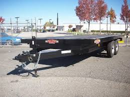 Utility Bed Trailer New And Pre Owned Open Trailers Pac West Trailers