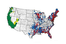 Lyme Map Lyme Disease Spreading Ticks Now In Almost Half Of U S Counties