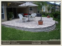 Build Paver Patio How To Build A Paver Patio On A Slope Search For The