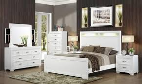 myco fr745 q francis white headboard bedroom set 5pcs w
