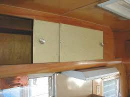 Vintage Kitchen Cabinet Doors Vintage Shasta Trailer Interiors From Oldtrailer Com