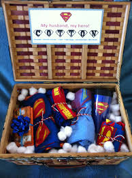 cotton anniversary gifts for him 2nd anniversary cotton husband basket anniversary gift