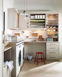 Closet Craft Room - laundry craft room boston design guide