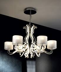 Ceiling Light Chandelier Ghost Design 6 Light Chandelier With Shades Leds