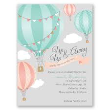 perfect baby shower invitations with small gray elephant and blue