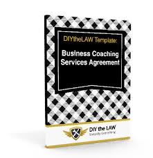 business coaching services agreement template diythelaw