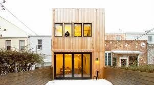Modern Row House by Home Renovation Inhabitat Green Design Innovation